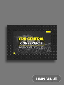 Event Postcard Template