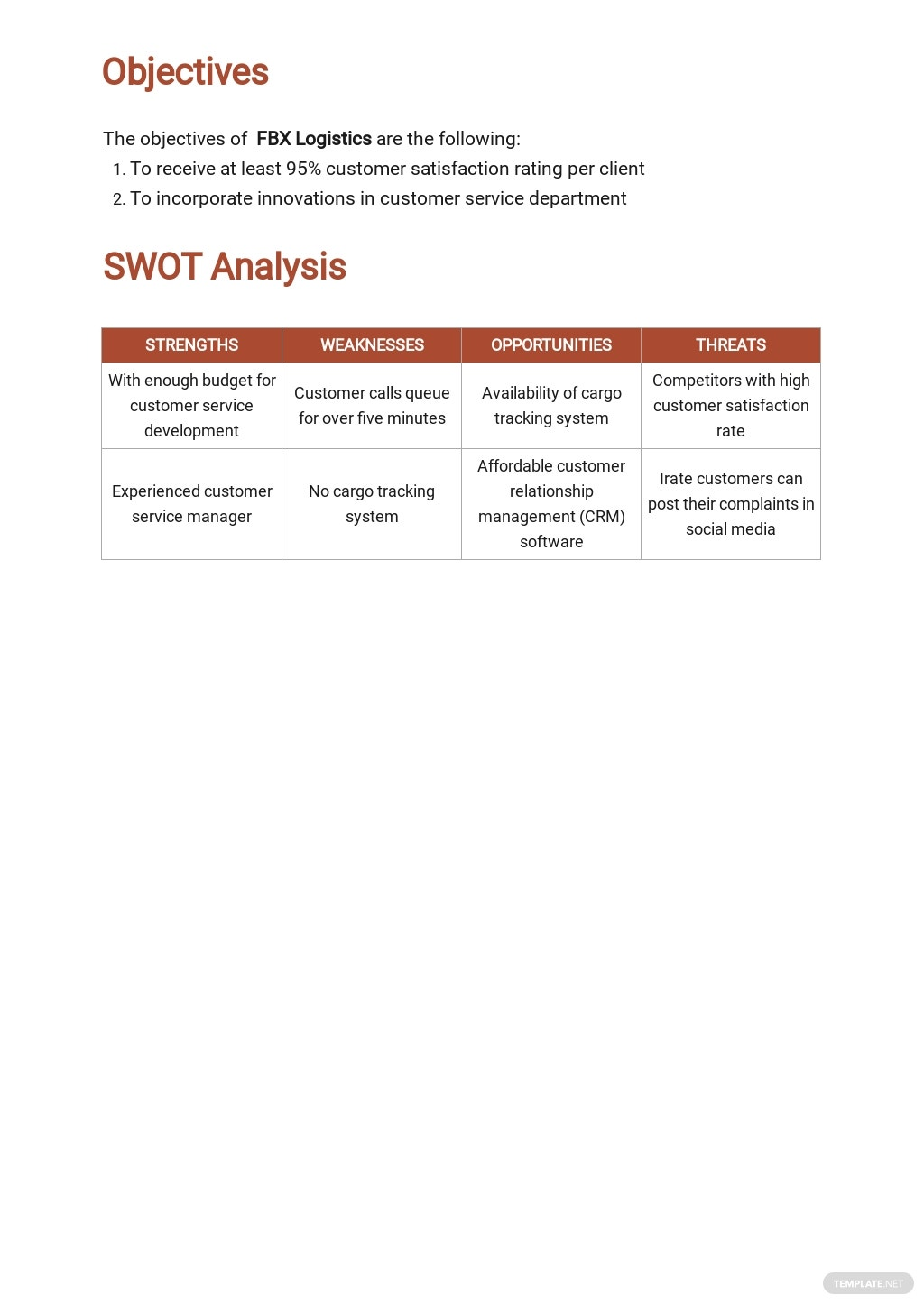 Customer Service Development Plan Template 1.jpe