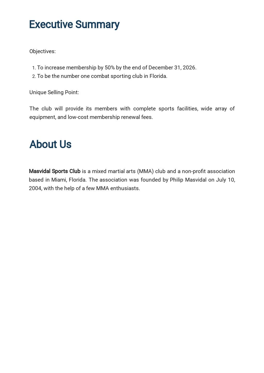 Sports Club Business Developement Plan Template 1.jpe