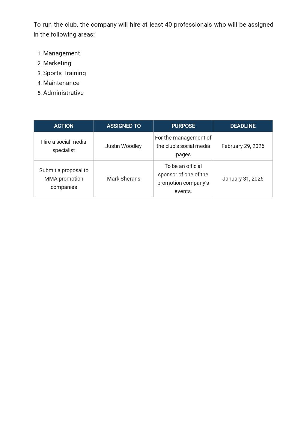 Sports Club Business Developement Plan Template 5.jpe