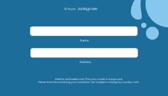 Laundry Membership Card Template 1.jpe