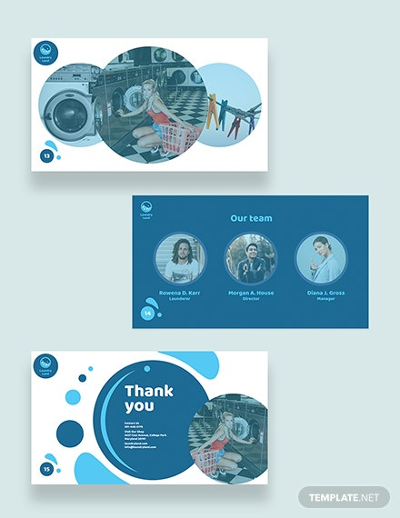 Laundry Presentations Templates
