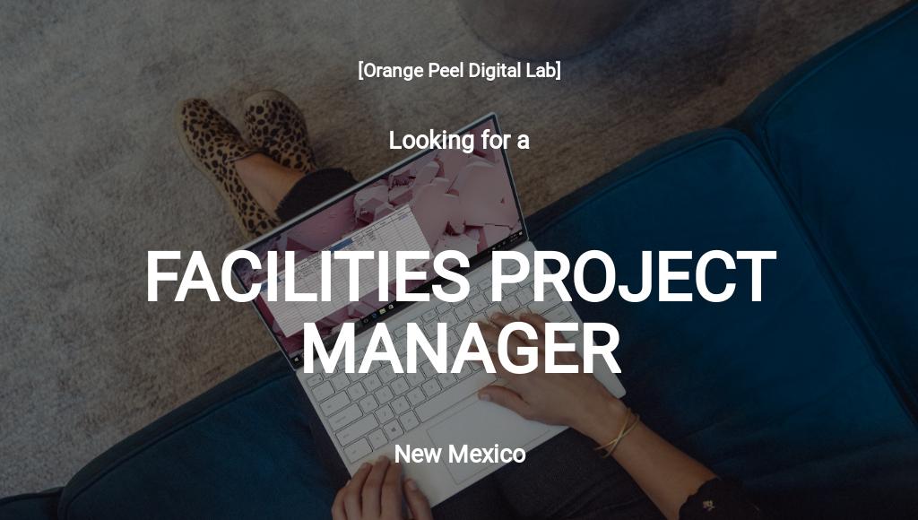 Free Facilities Project Manager Job Description Template.jpe