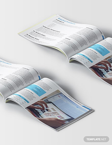 Printable Contracting Business Media Kit Template