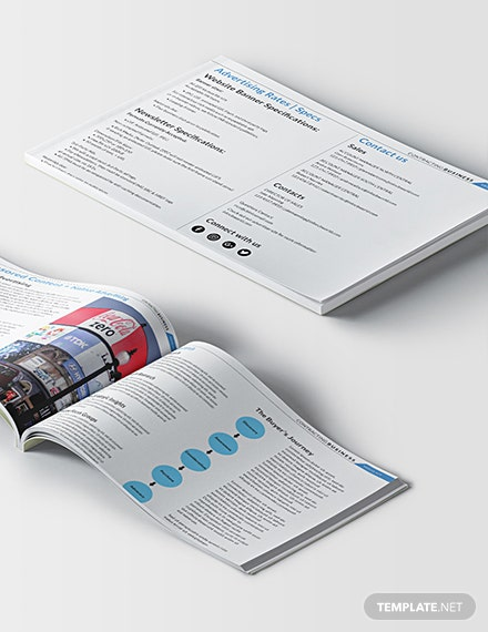 Free Downloadable Contracting Business Media Kit Template
