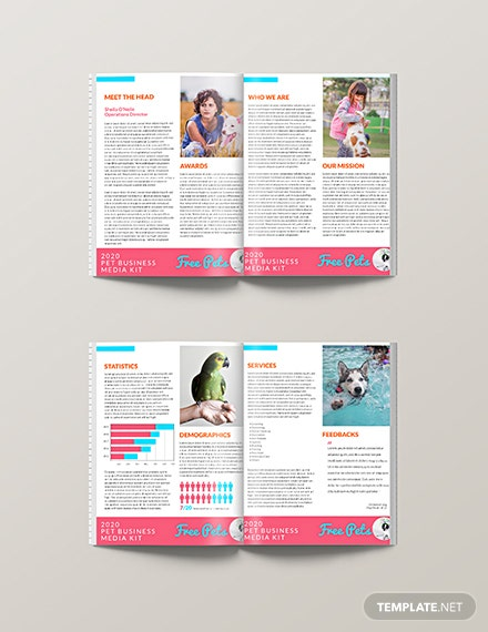 Free Pet Business Media Kit Template