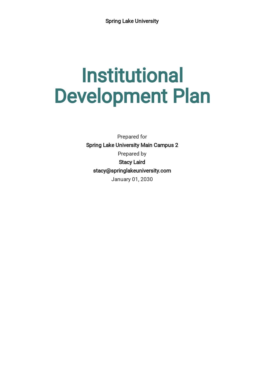 Institutional Development Plan Template.jpe