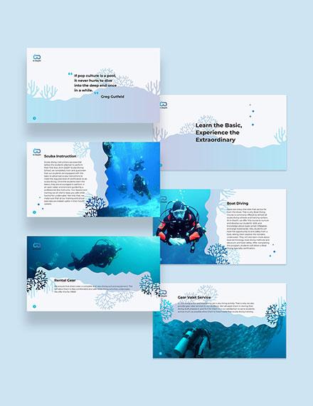 Scuba Diving School Presentation  Download