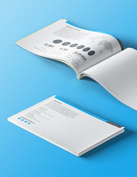 Editable Insurance Business Media Kit Template
