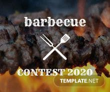 BBQ Event Ticket Template