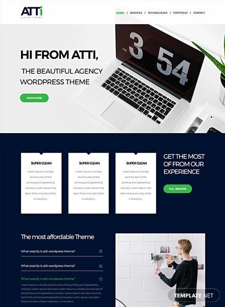 Corporate Agency HTML5/CSS3 Website Template
