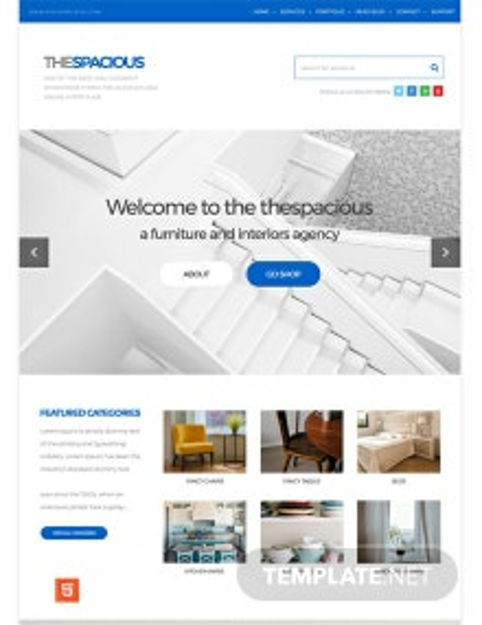 Free Interior Design Firm HTML5/CSS3 Website Template