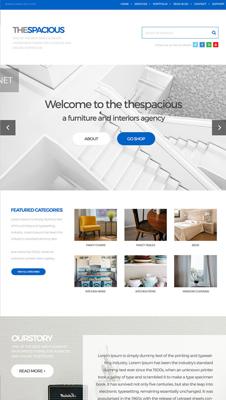 Interior Design Firm HTML5/CSS3 Website Template