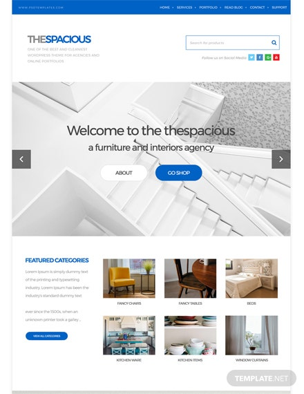Interior Design Firm HTML5/CSS3 Website Template
