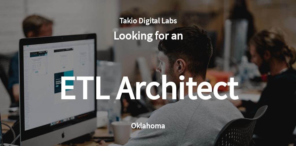 ETL Architect Job AD/Description Template