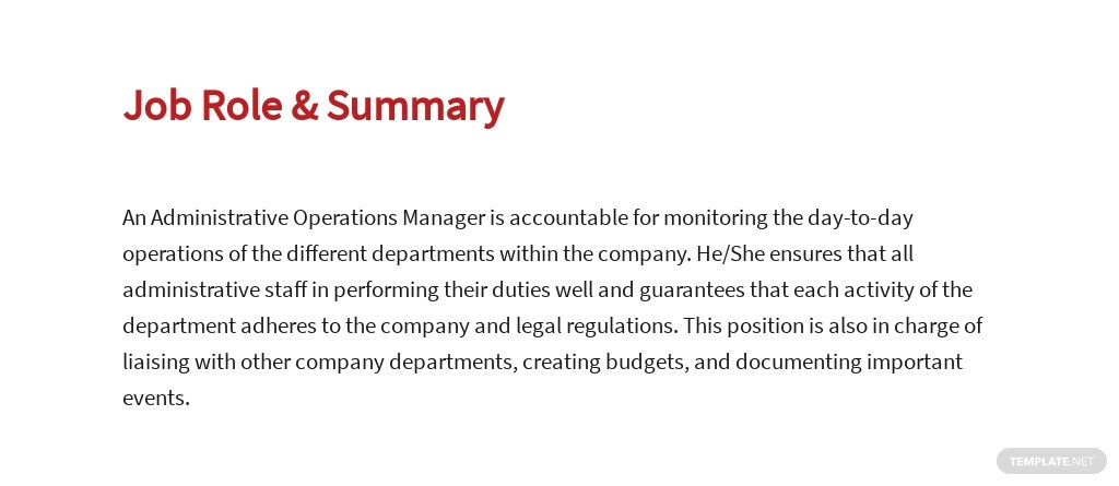 Free Administrative Operations Manager Job Ad/Description Template 2.jpe