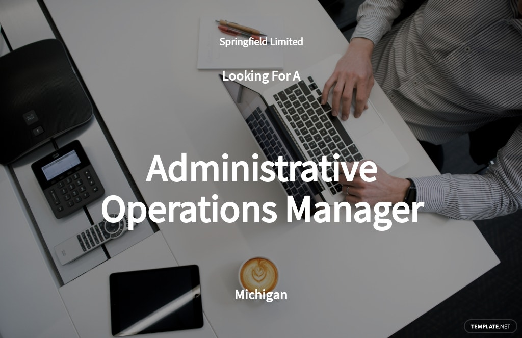 Free Administrative Operations Manager Job Ad/Description Template.jpe