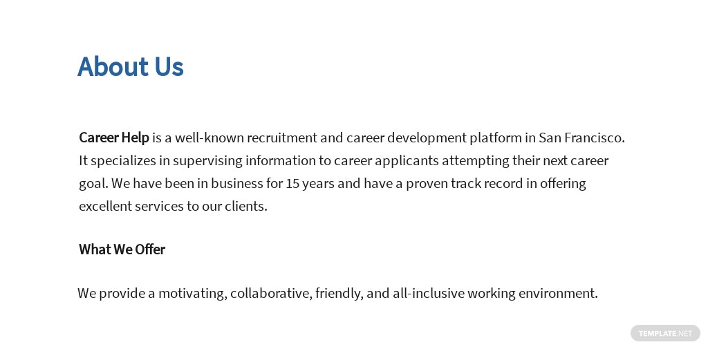 Free Information Technology Operations Manager Job AD/Description Template 1.jpe