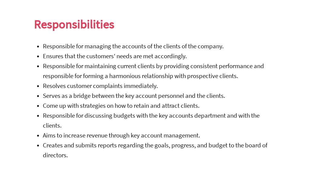 Free Key Account Sales Manager Job AD/Description Template 3.jpe