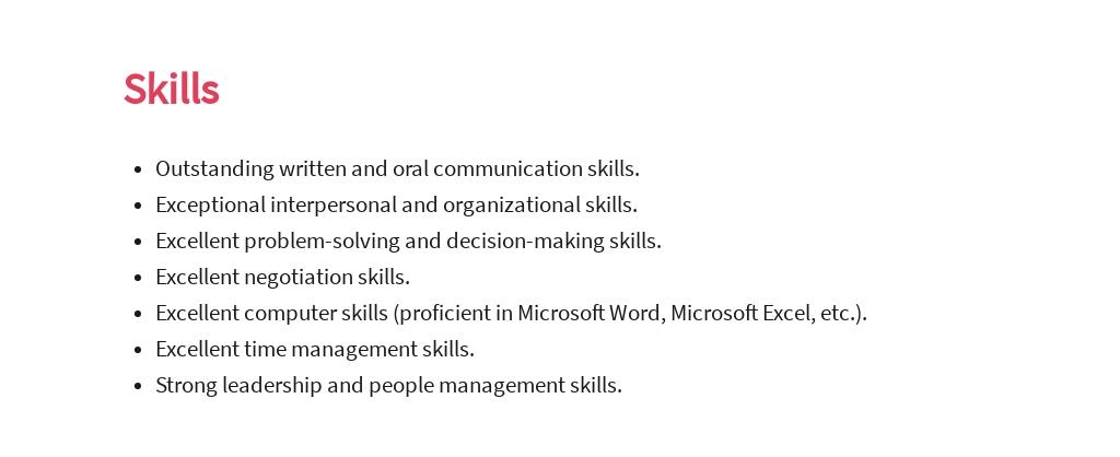 Free Key Account Sales Manager Job AD/Description Template 4.jpe