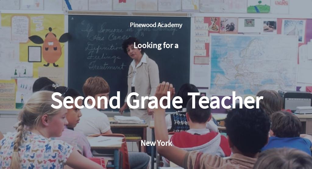 Free Second Grade Teacher Job Description Template.jpe