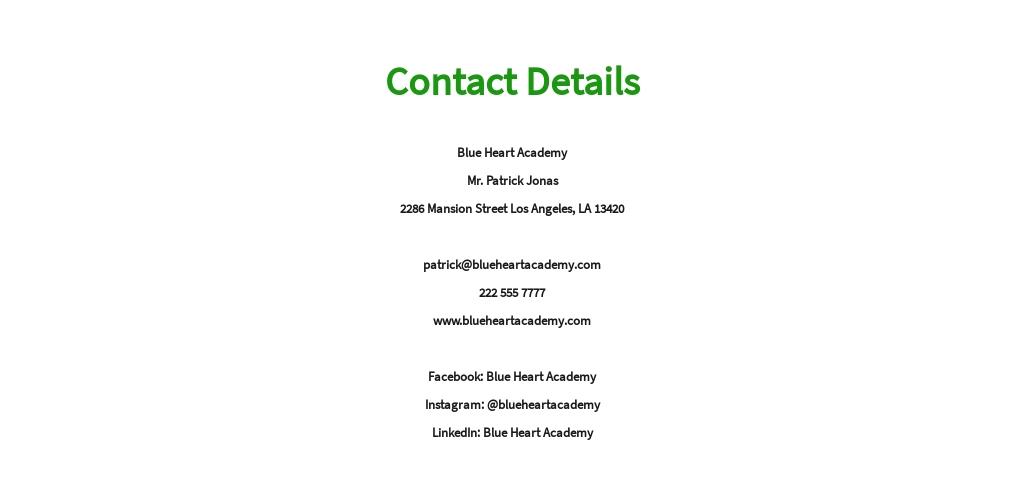 Free Primary Teacher Job AD/Description Template 8.jpe