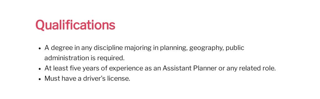 Free Assistant Planner Job Description Template 5.jpe