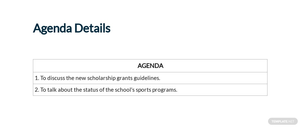 Free School Board Meeting Minutes Template 2.jpe