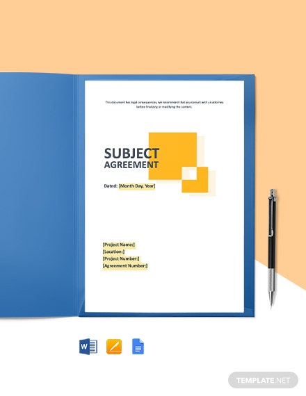 Free Simple Construction Agreement Template