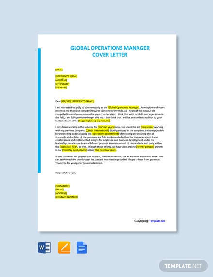 335+ FREE Cover Letter Templates - Word | Google Docs ...