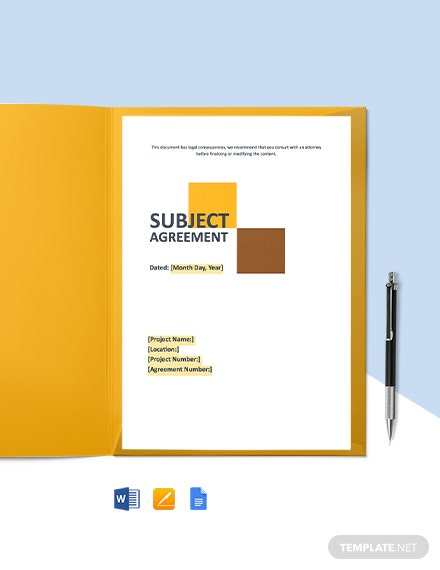 Free Editable Construction Agreement Template
