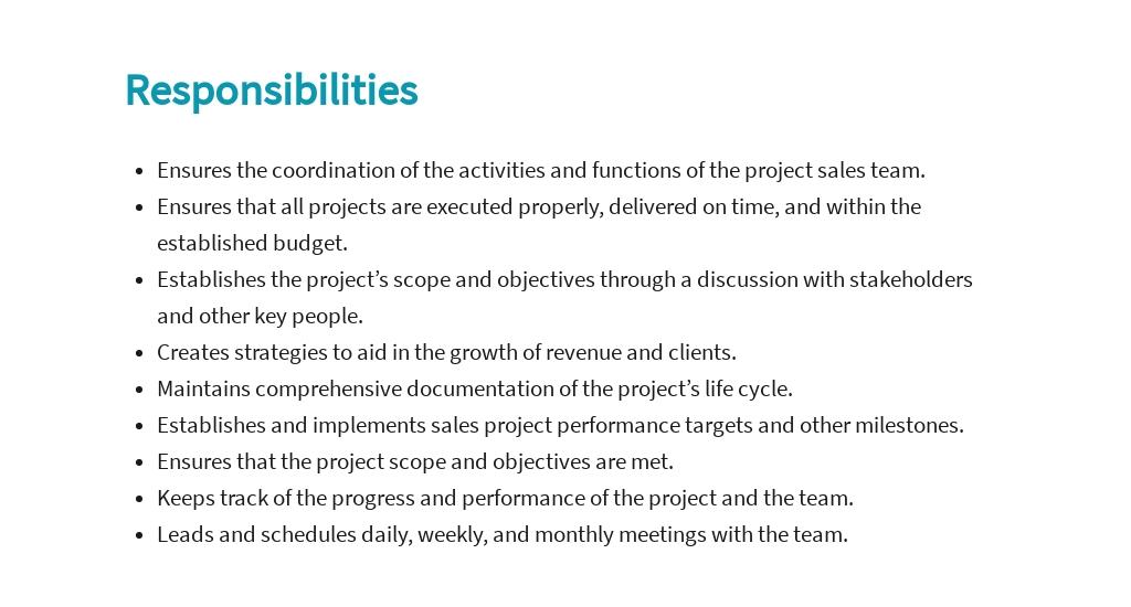Free Project Sales Manager Job Ad/Description Template 3.jpe