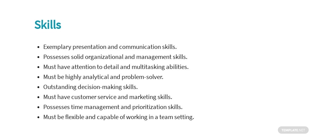 Free Project Sales Manager Job Ad/Description Template 4.jpe
