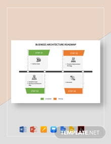 Business Architecture Roadmap Template