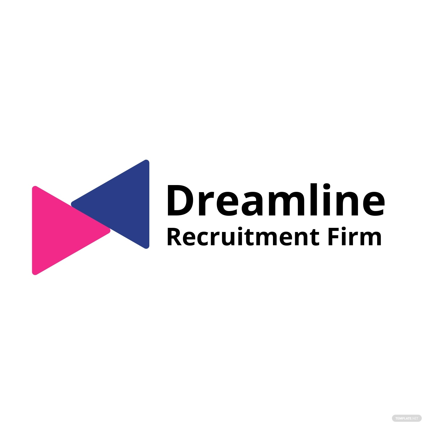 Recruitment Firm Logo Template