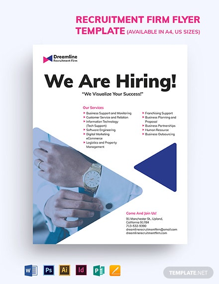 Recruitment Firm Flyer Template