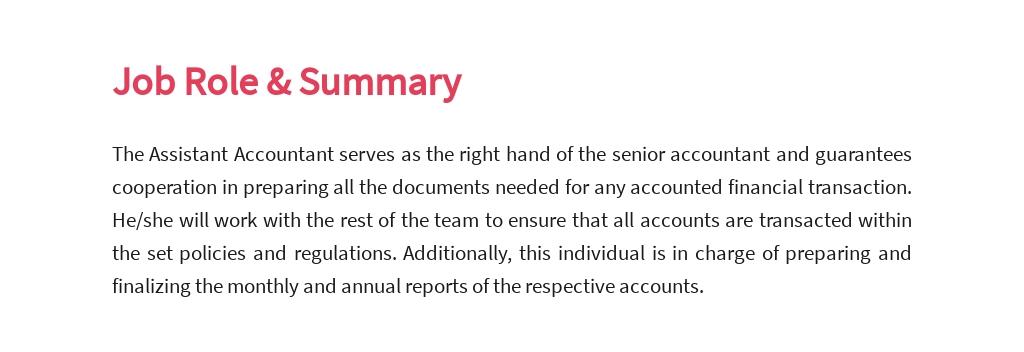 Free Assistant Accountant Job Ad/Description Template 2.jpe