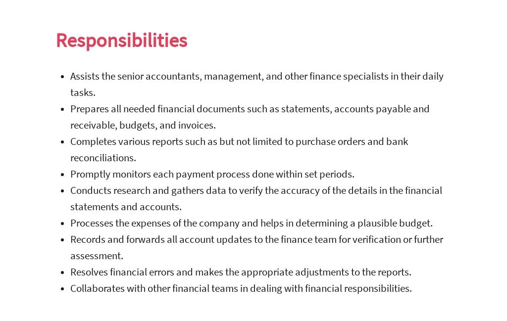 Free Assistant Accountant Job Ad/Description Template 3.jpe