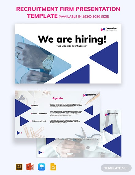 Recruitment Firm PresRecruitmentFirmPresentationTemplateentation Template