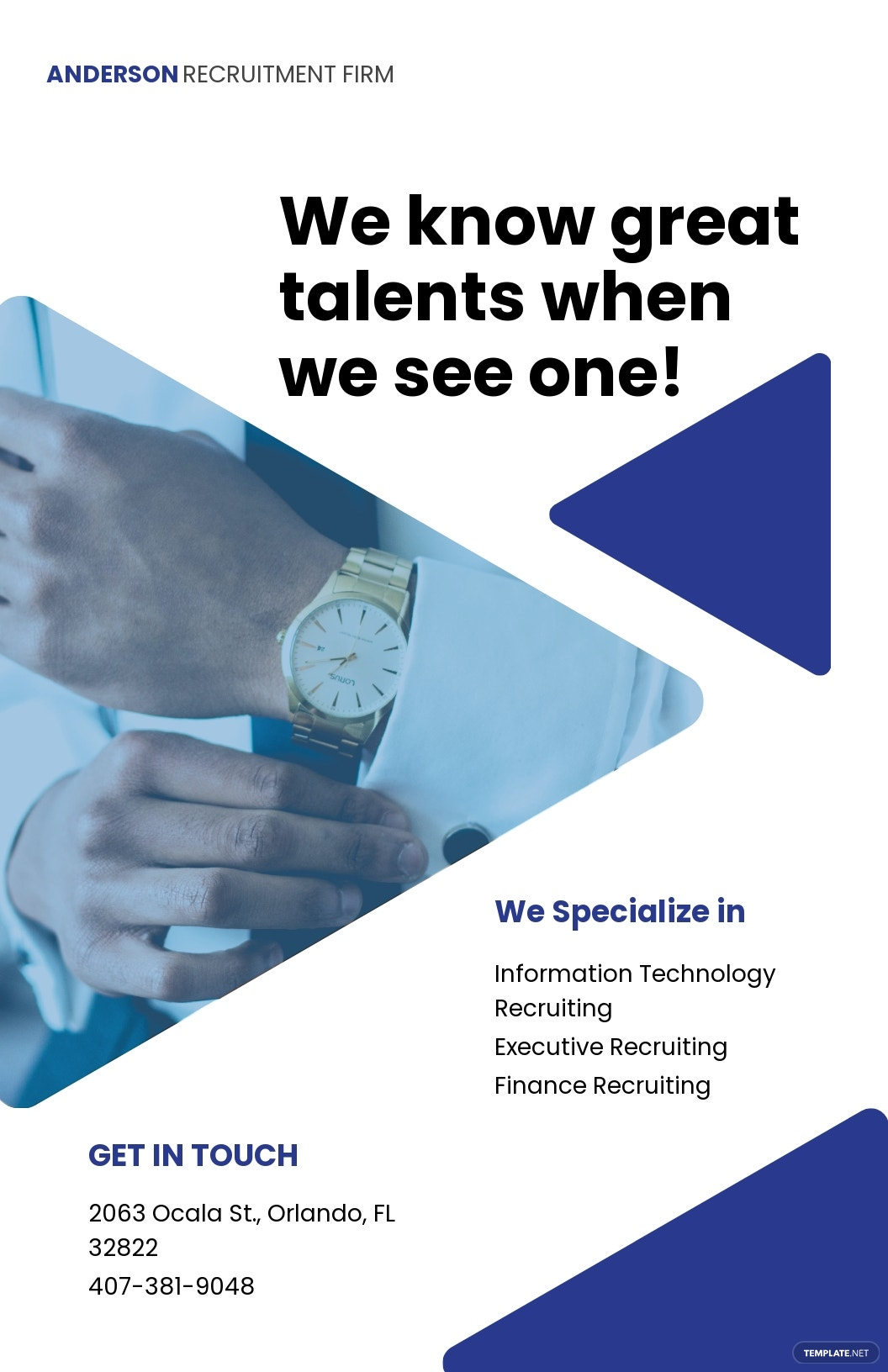 Recruitment Firm Poster Template.jpe