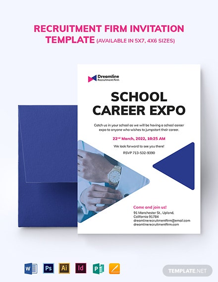 Recruitment Firm Invitation Template