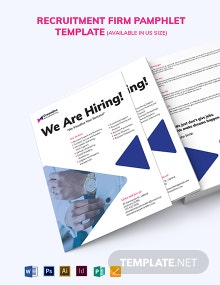 Recruitment Firm Pamphlet Template