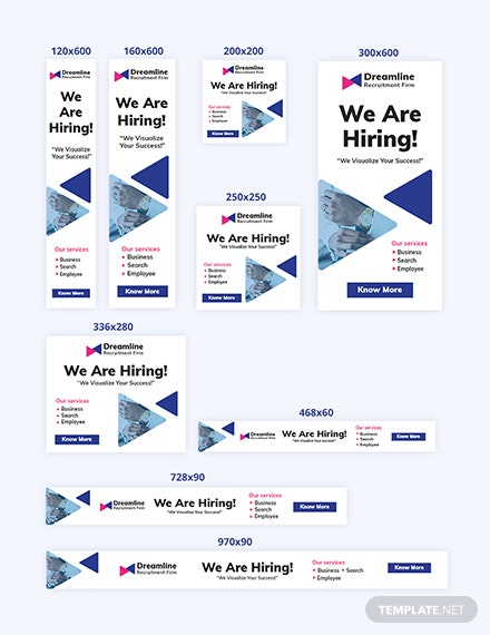 Recruitment Firm Web Ad Banners Download