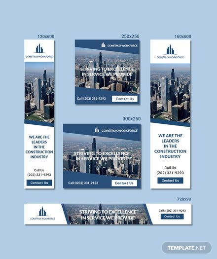 Architecture Ad Banner Template