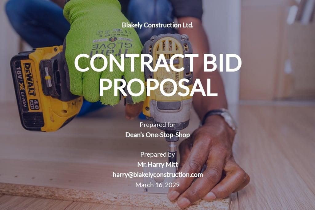 Contract Bid Proposal Template.jpe