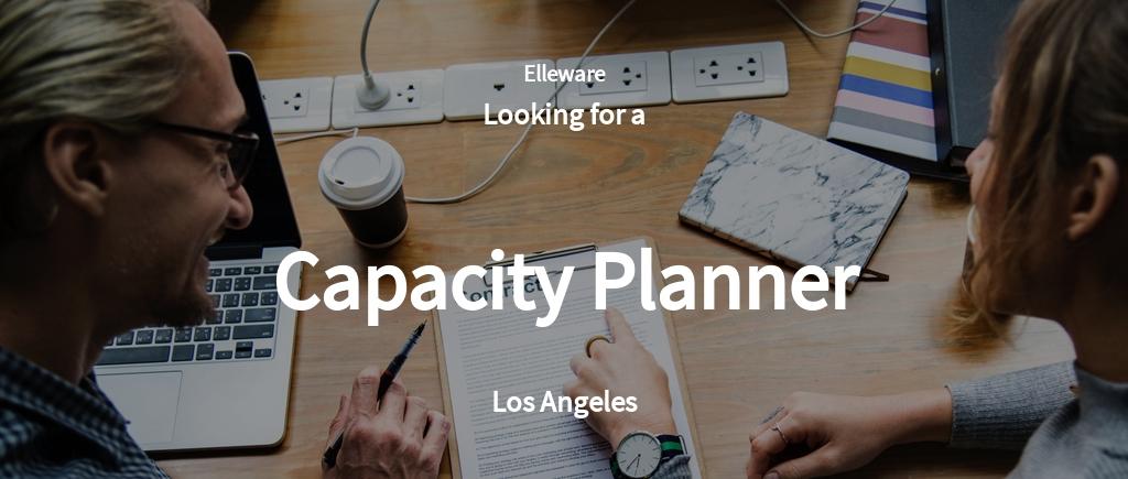 Free Capacity Planner Job AD/Description Template.jpe