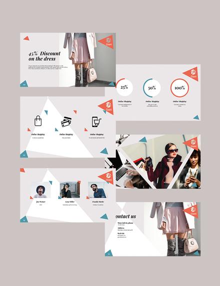 Online Store Presentation Download