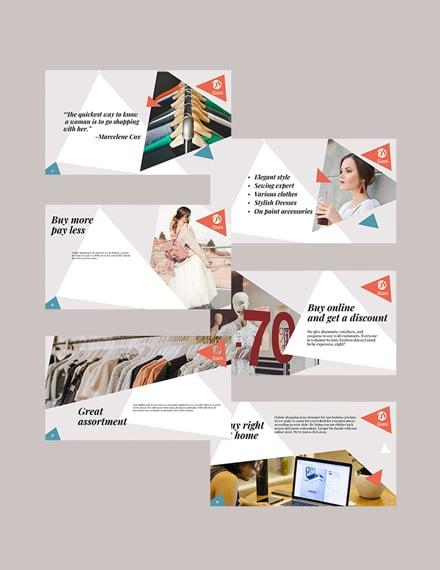 Online Store Presentation Firm Presentation
