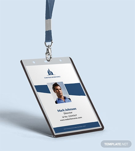 Architecture Identity Card Template