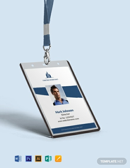 Free Architecture Identity Card Template